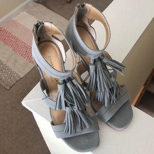 NWOT Chinese Laundry Tassel Heels